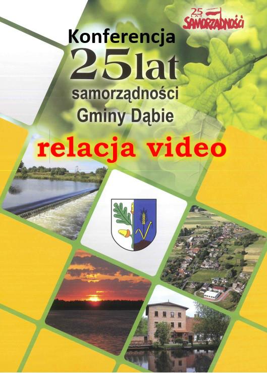Konferencja 25 lat samorządności w Gminie Dąbie