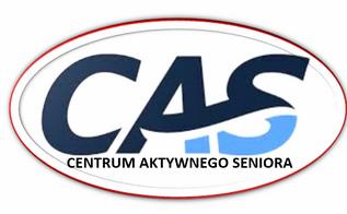 logo cas z czarnym napisem